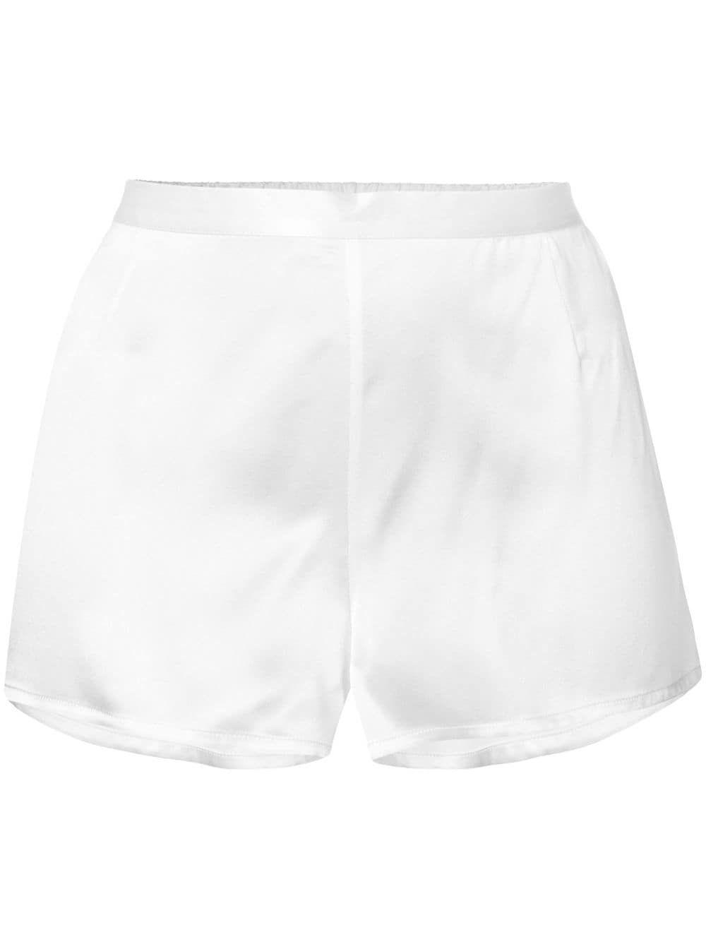 Shorts pigiama in seta