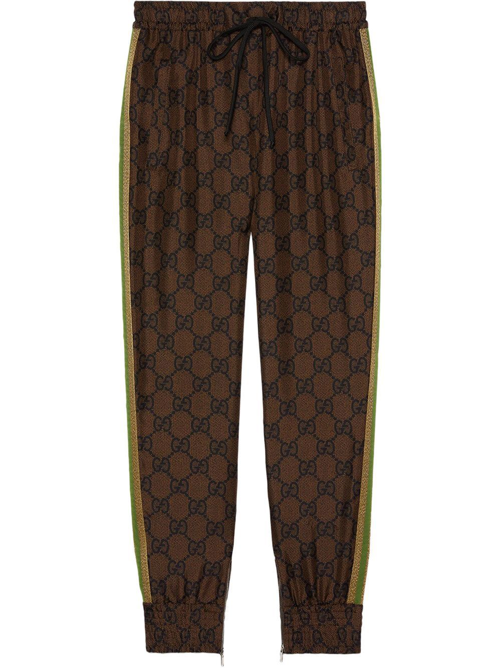 Pantalone gg supreme in misto seta