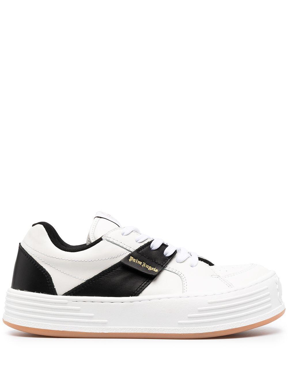 Sneaker snow in pelle