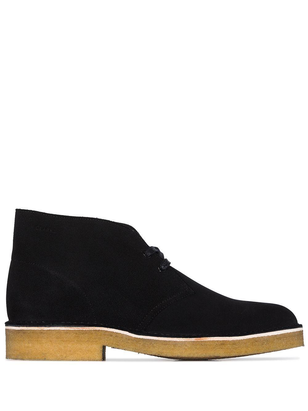 Desert boots in pelle