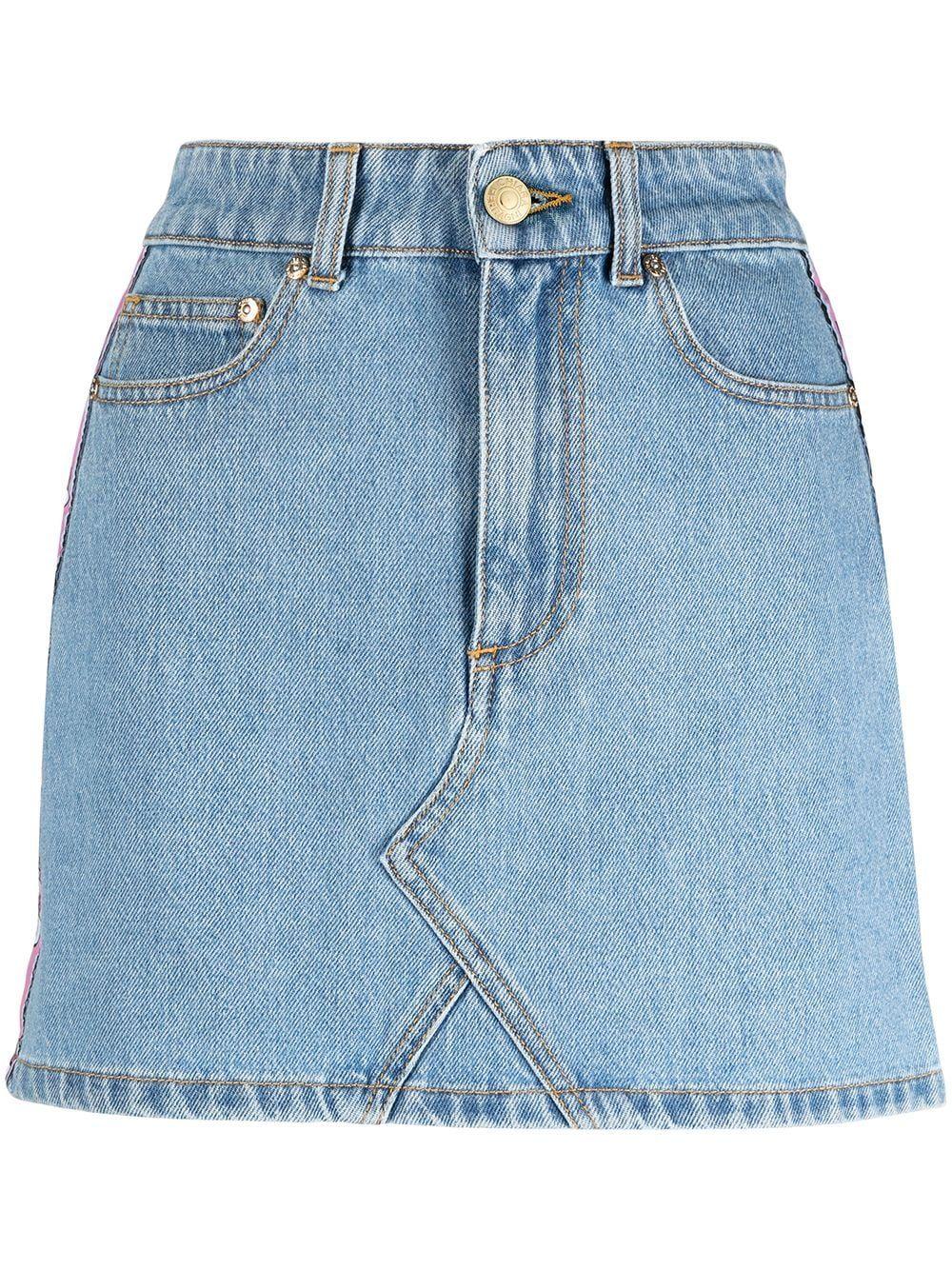 Mini gonna in jeans