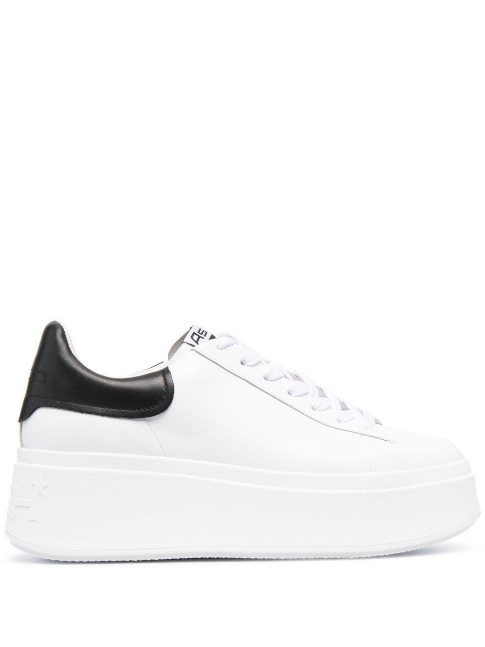 Sneaker moby in pelle