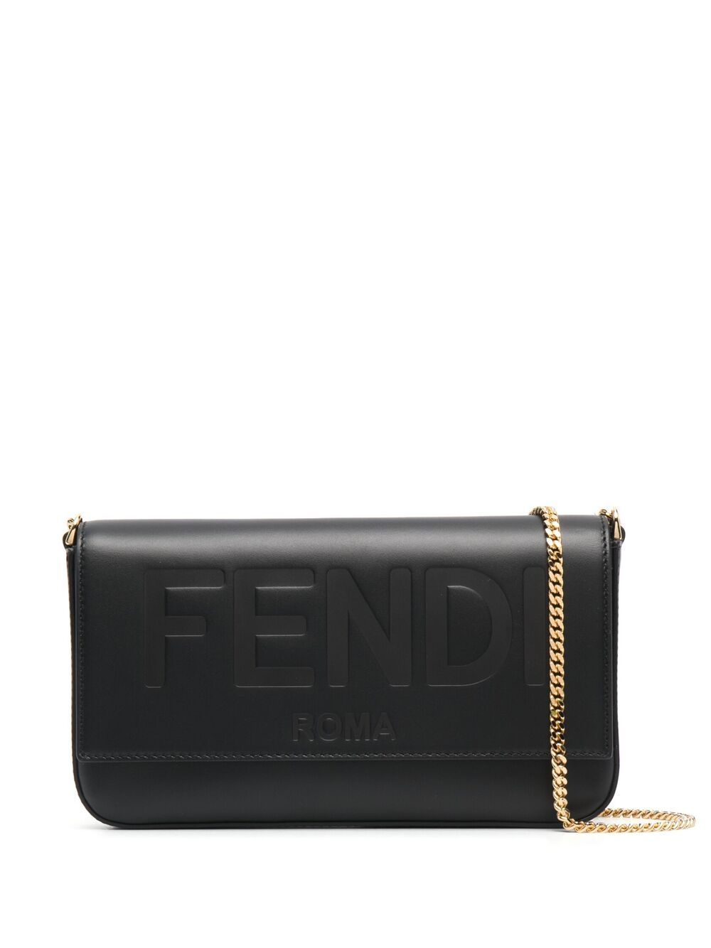 Mini borsa in pelle con catena