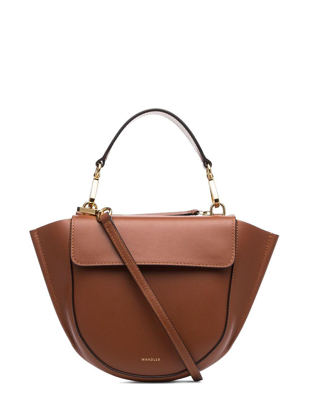 Mini borsa hortensia in pelle