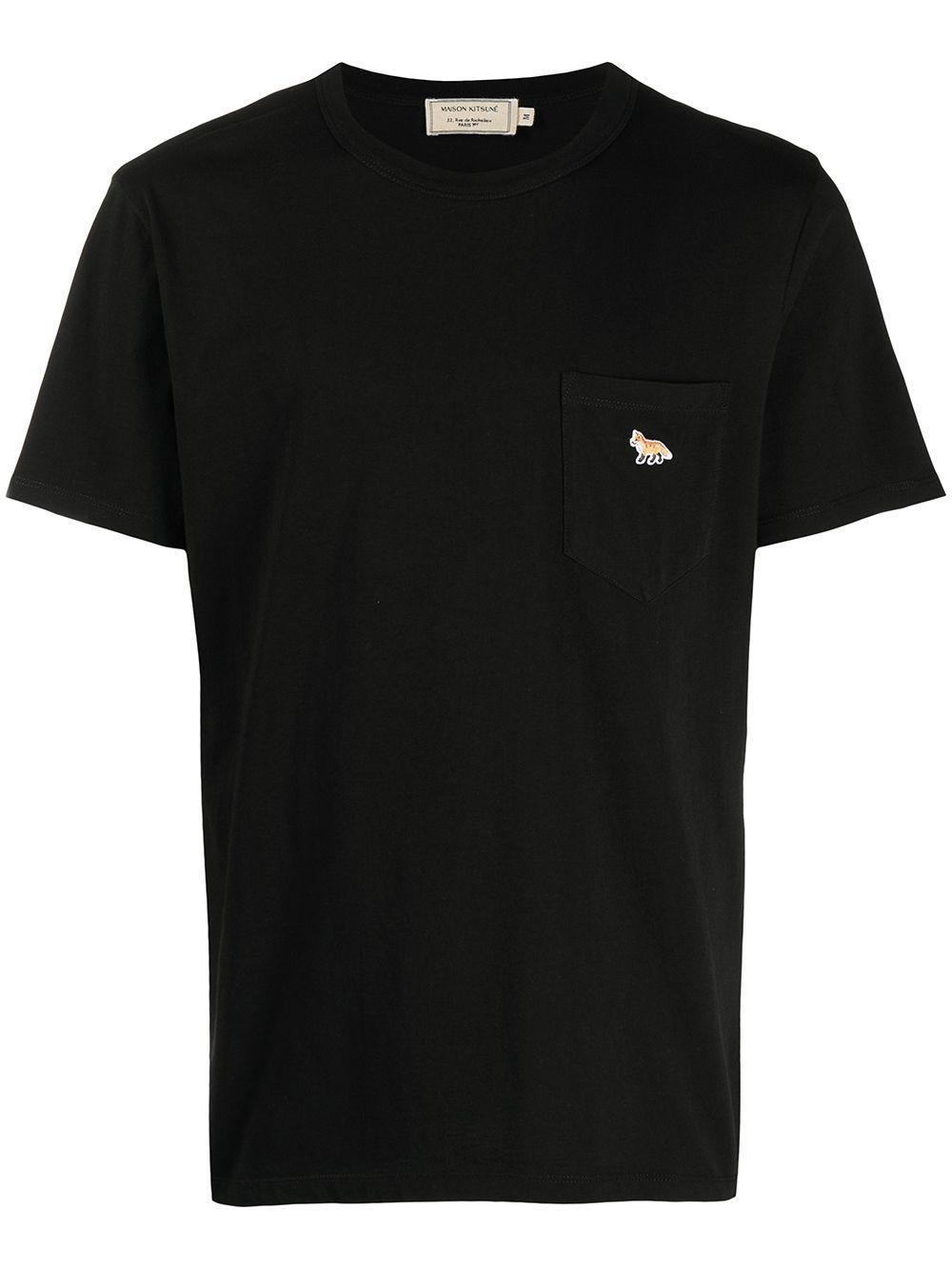 T-shirt logata in cotone