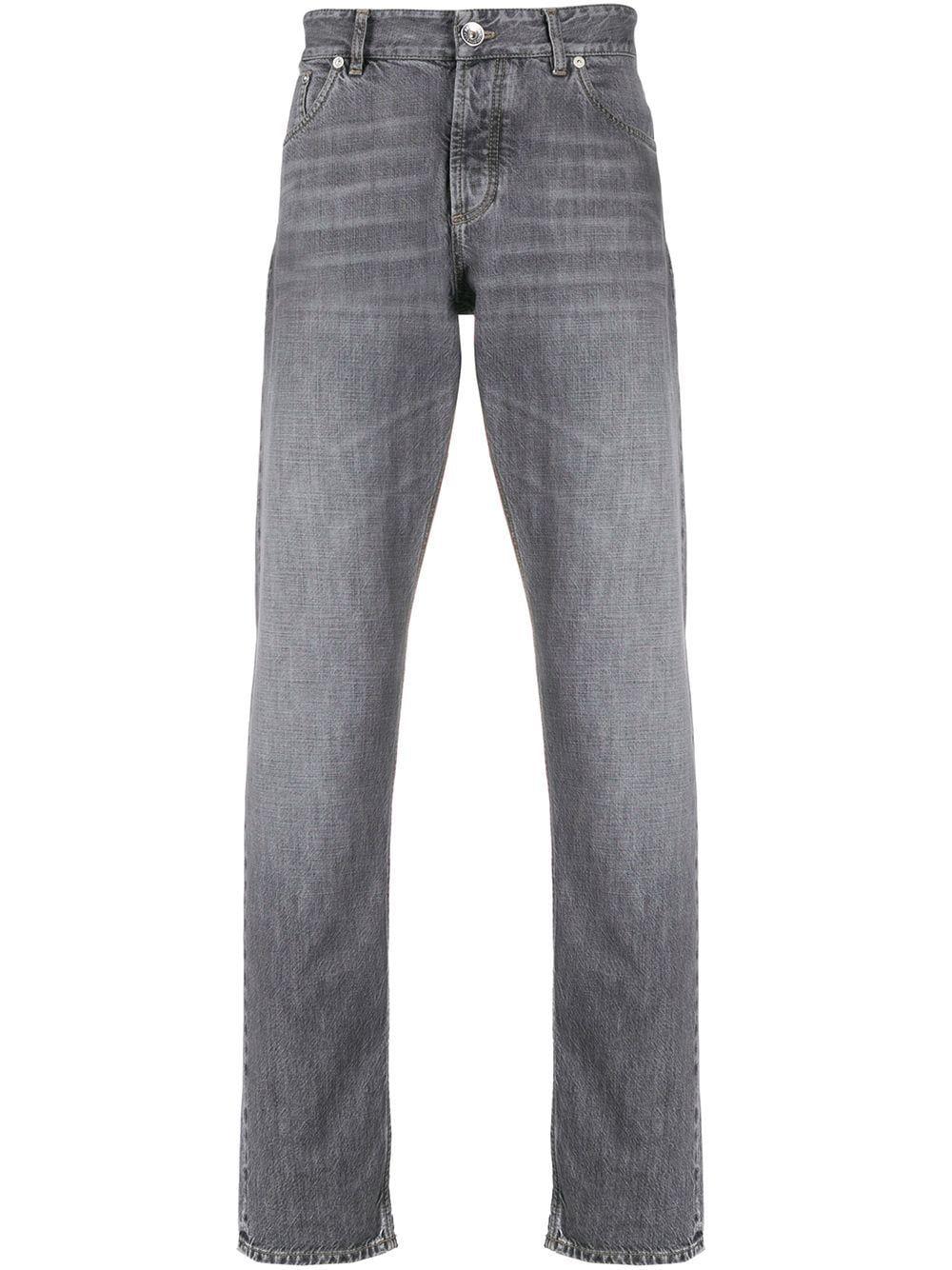Jeans dritto lavaggio scuro