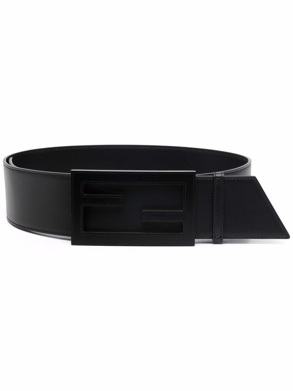 Cintura baguette in pelle