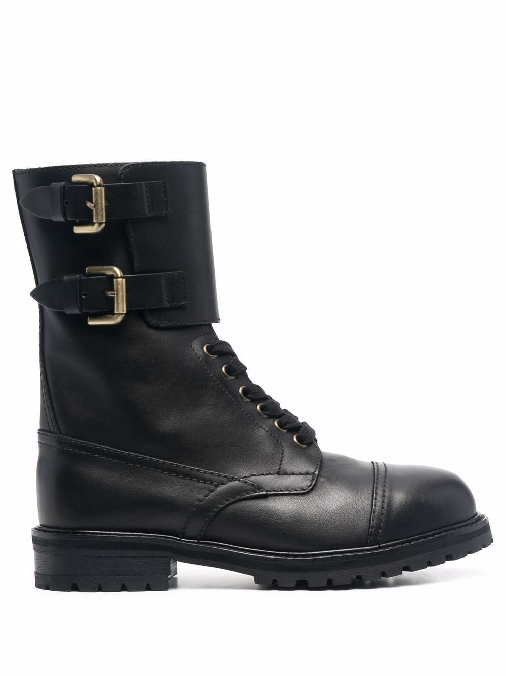Hank leather ankle boots