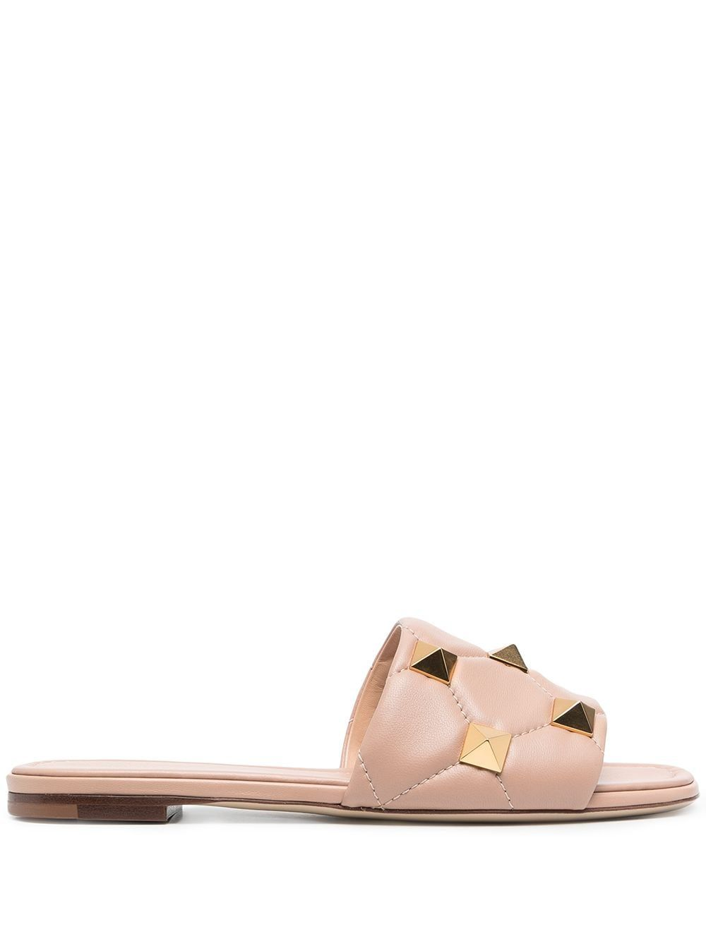 Romanstud leather sandals