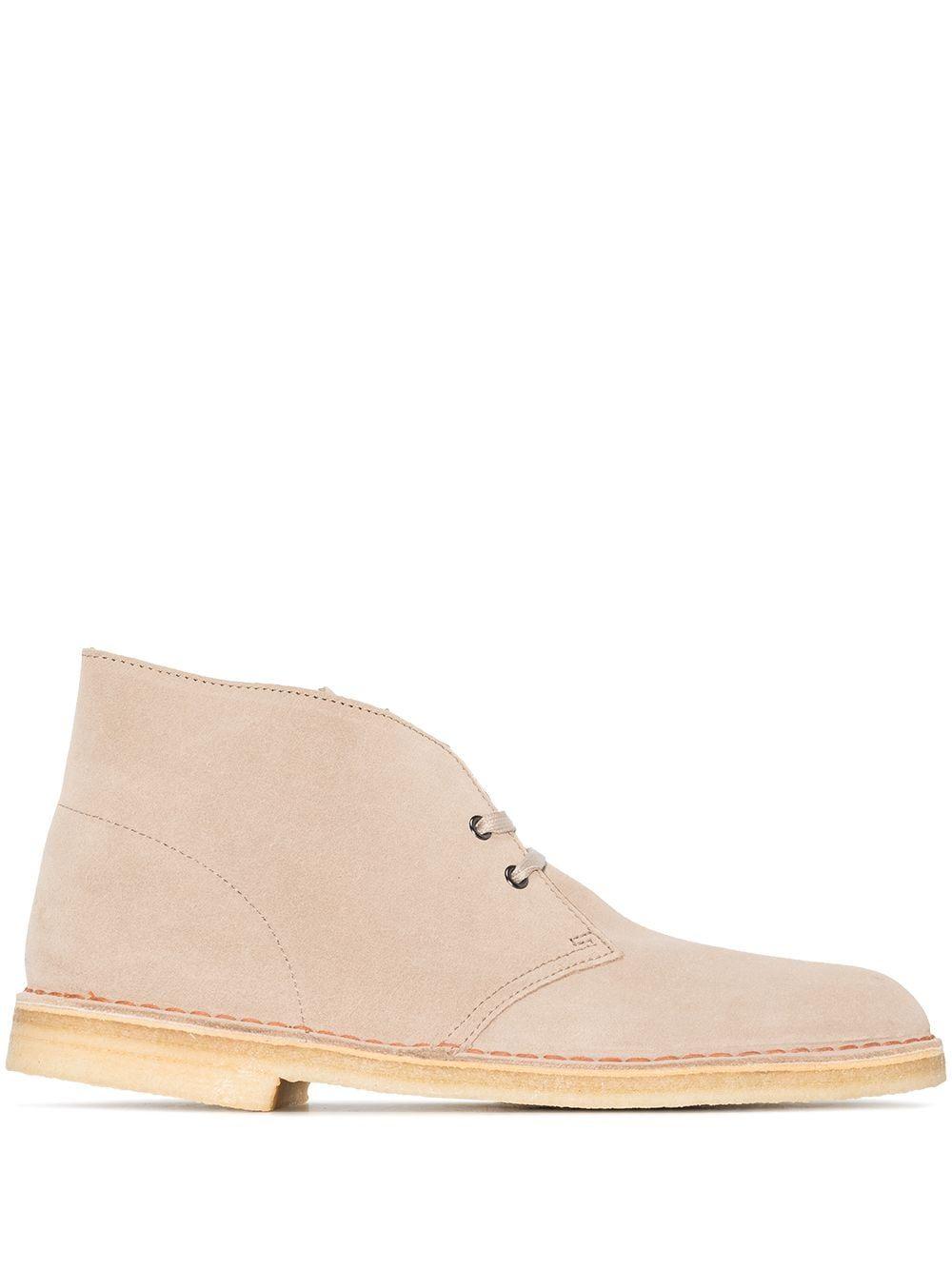 Desert boot in pelle