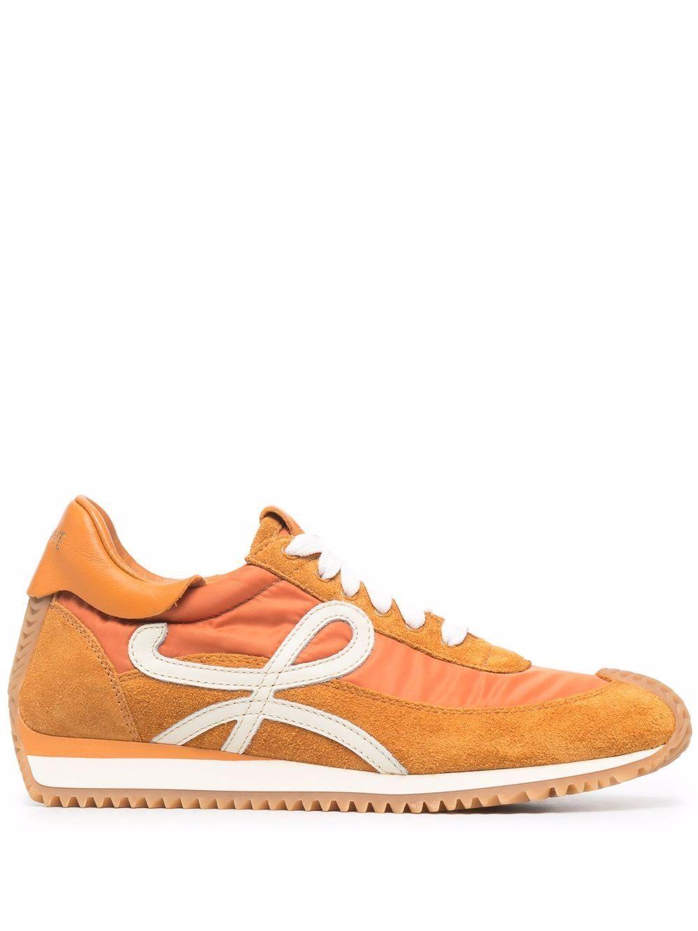 Flow runner leathersneakers