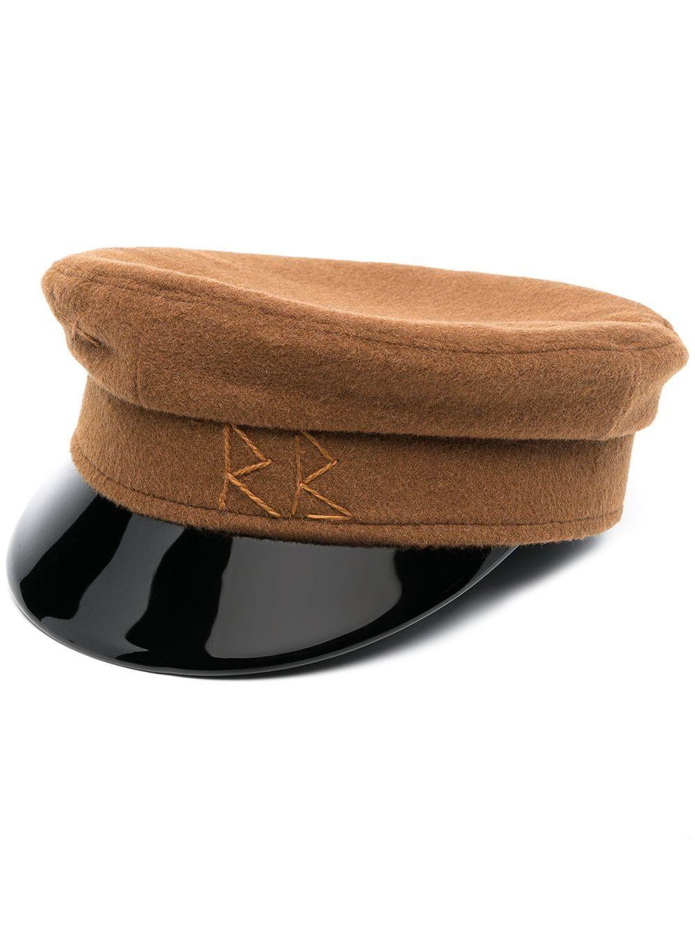 Cappello baker boy in lana