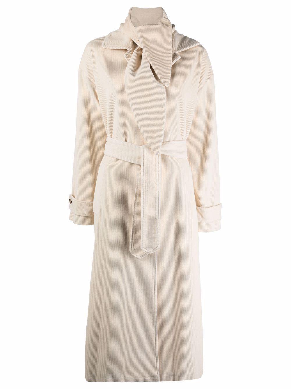Cappotto eliane in cotone