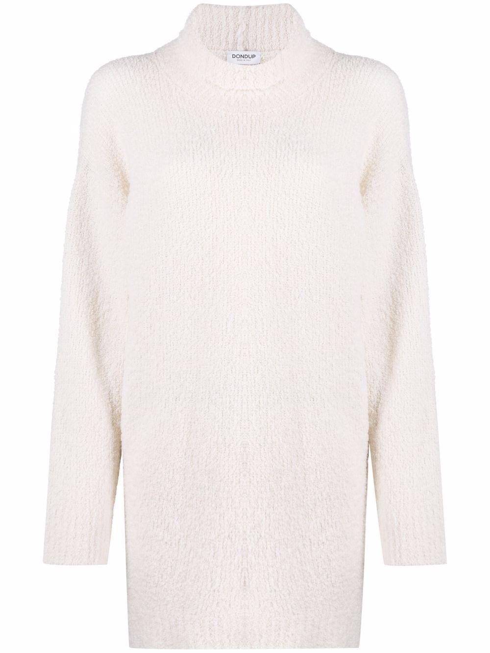 Maglia a collo alto in lana