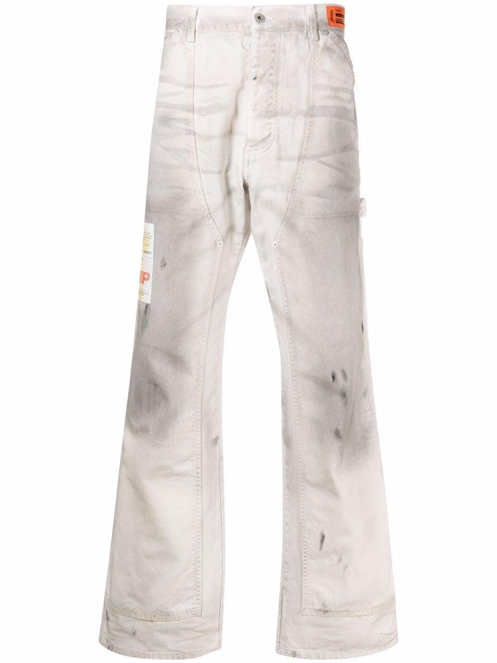 Pantalone dirt wash