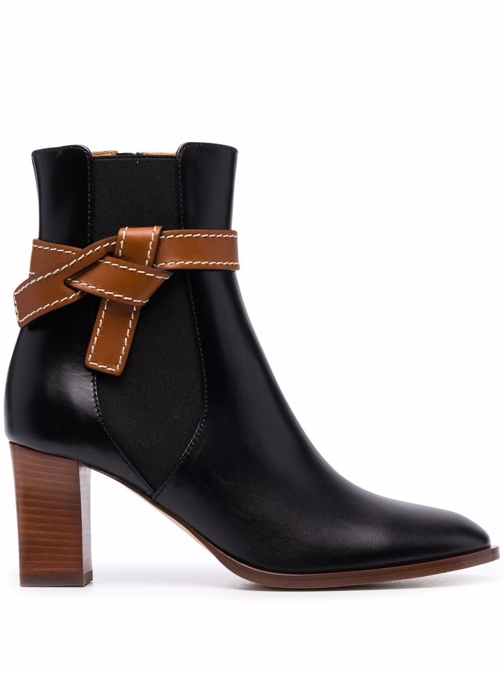 Gate leather boots