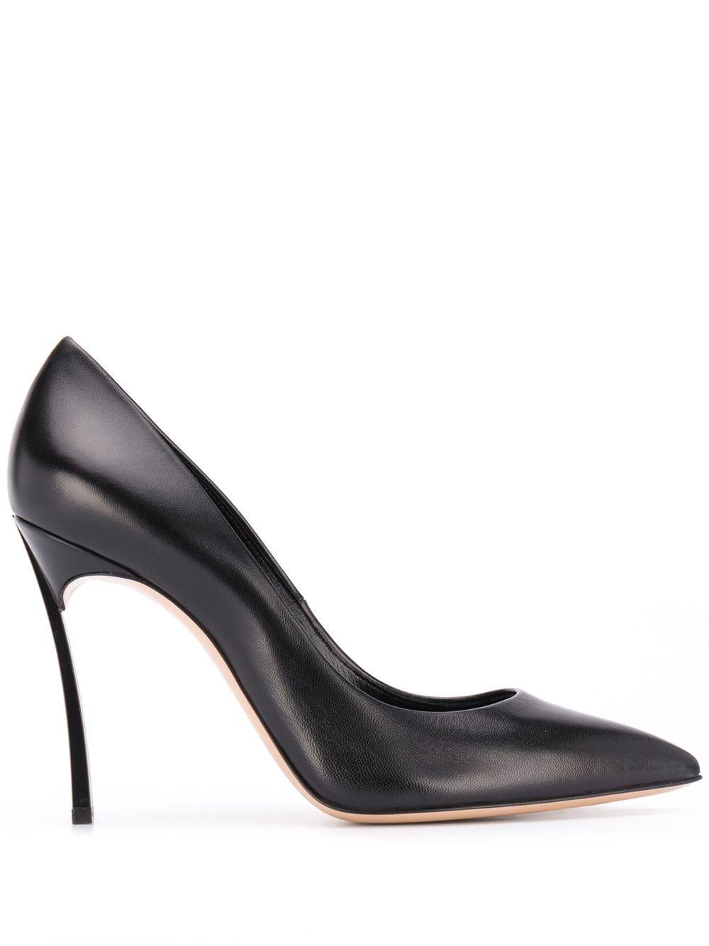 Casadei with heel black