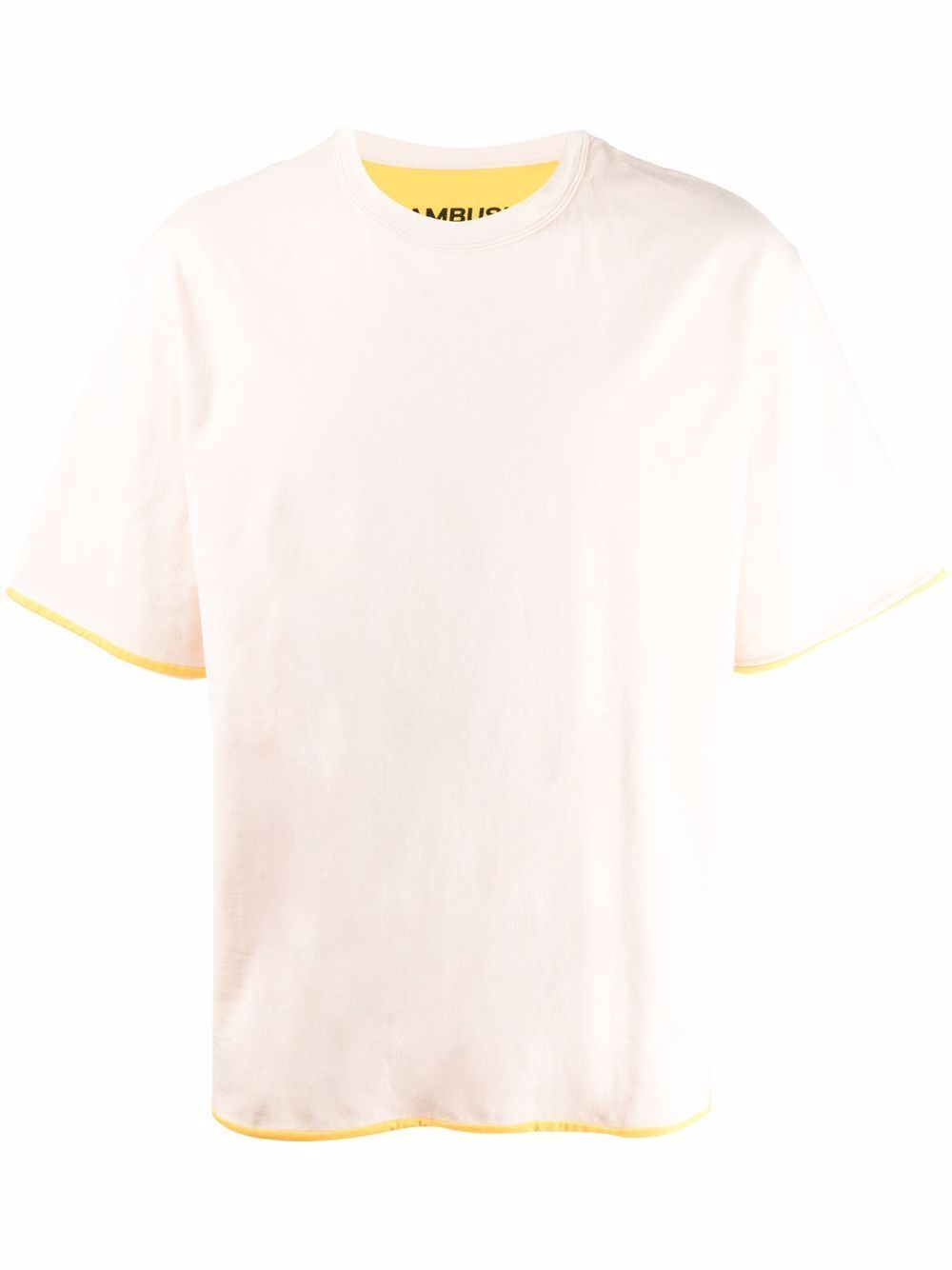 T-shirt in cotone reversibile