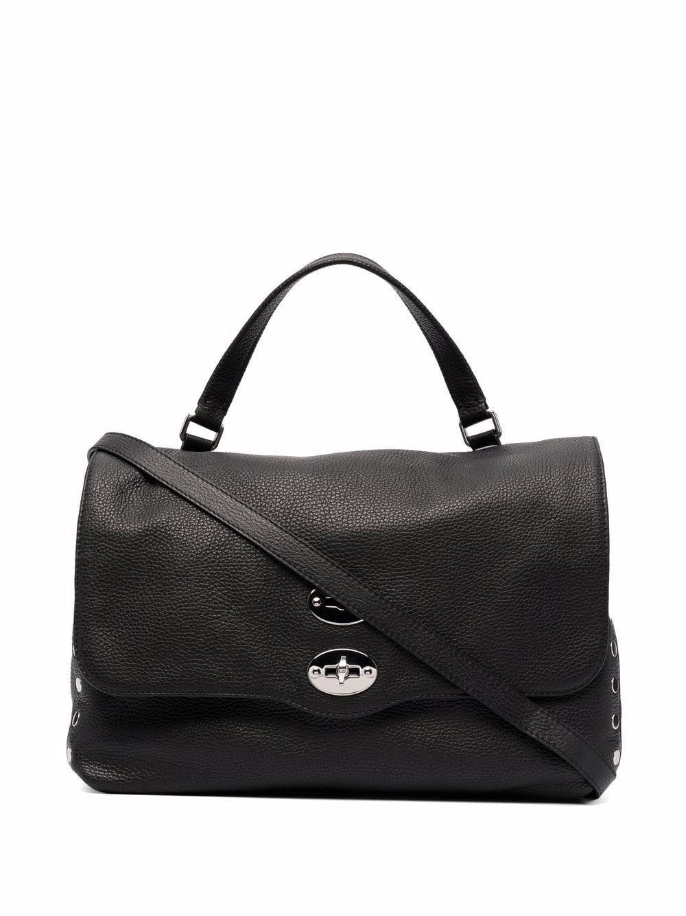 Postina leather handbag