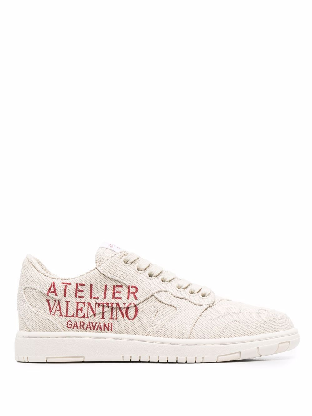 Atelier leather sneakers