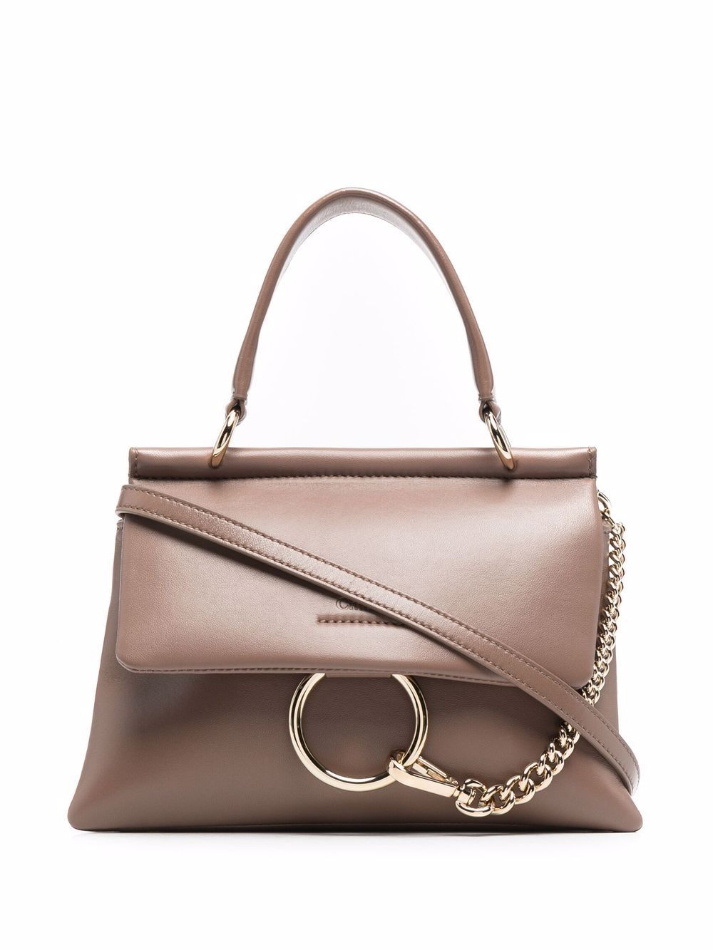 Faye mini leather handbag