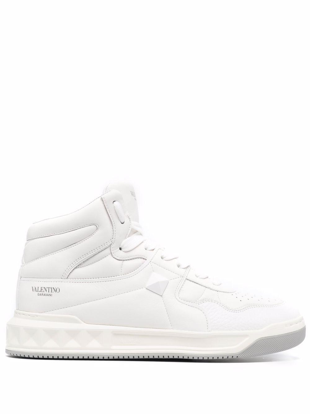 Sneaker vl7n in pelle