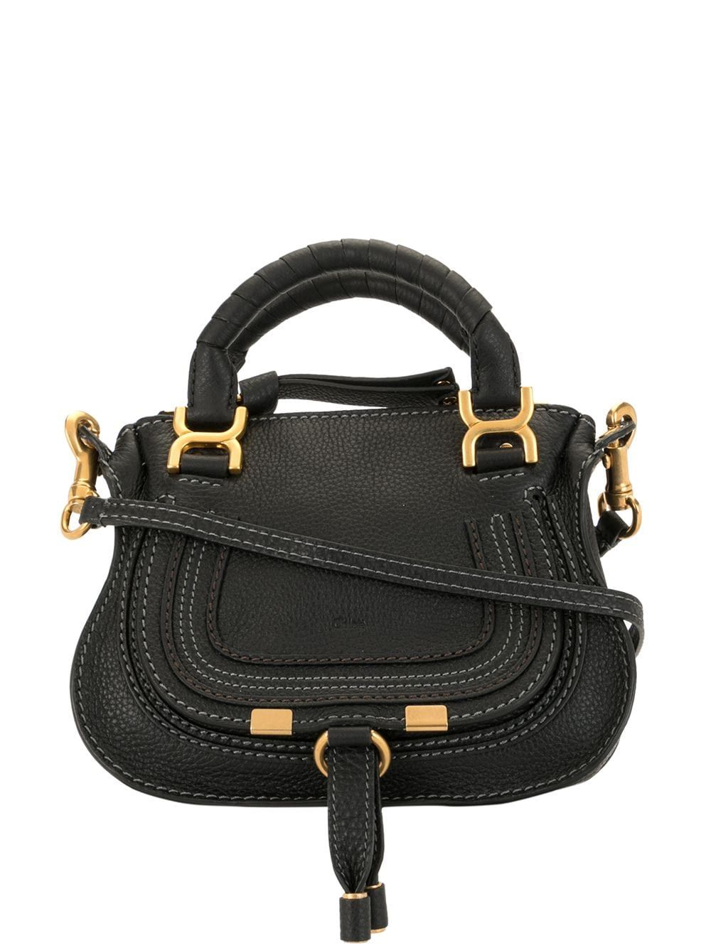 Marcie mini leather bag