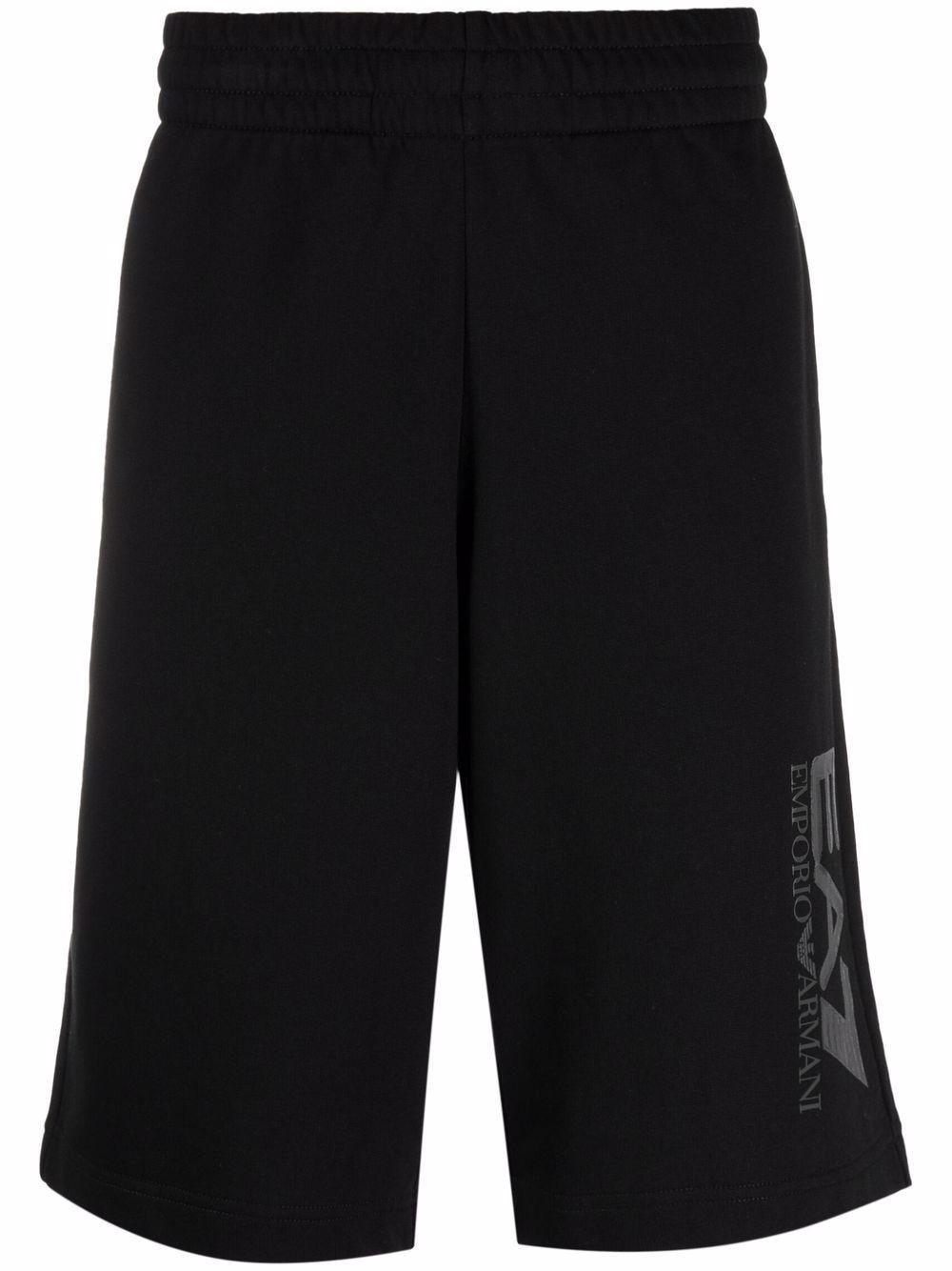 Shorts in cotone con logo