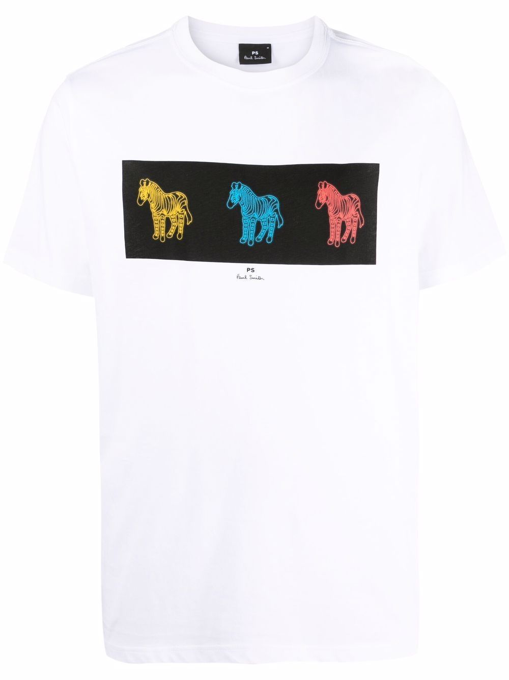 T-shirt in cotone& stampata
