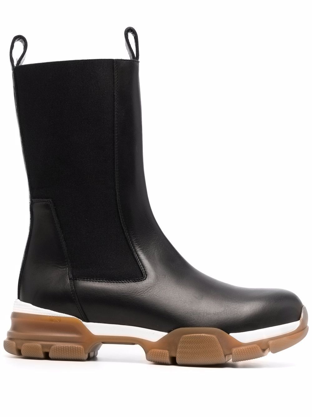Harvey leather ankle boots