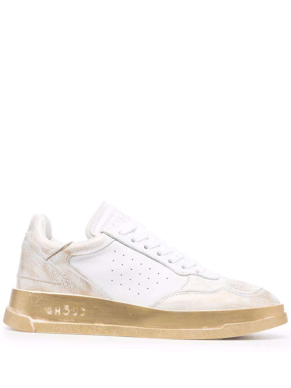 Tweener leather sneakers
