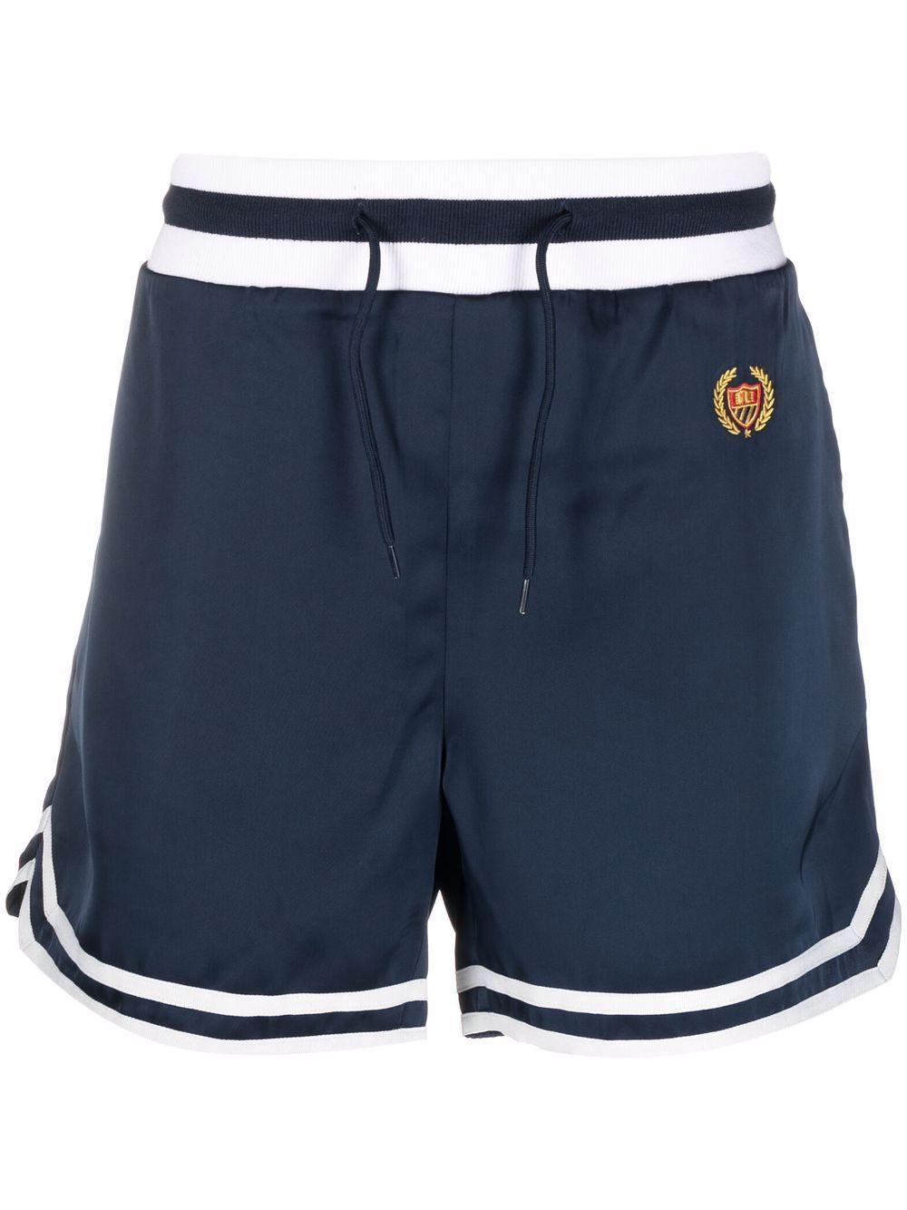 Shorts con logo