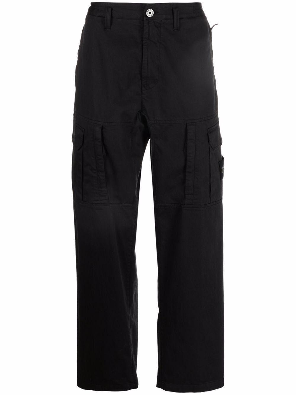 Pantalone cargo in misto cotone