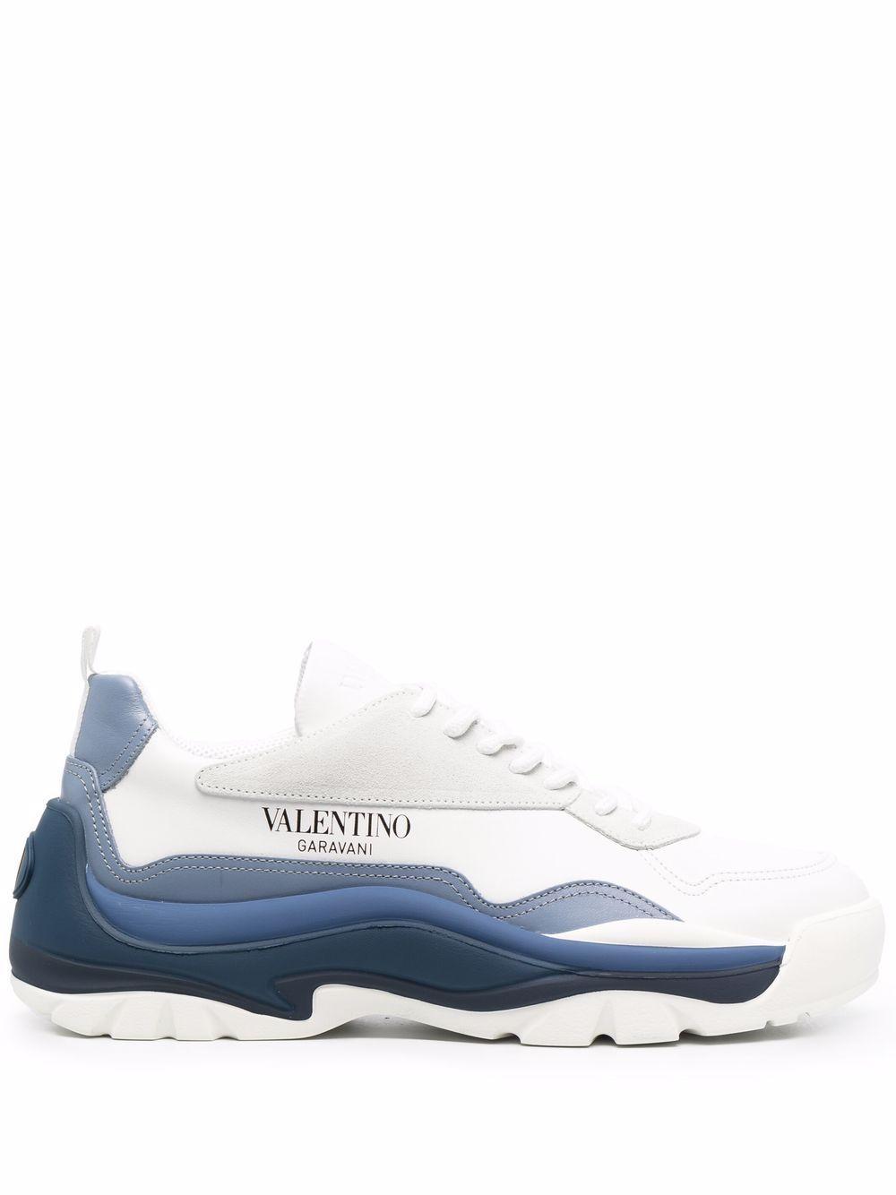 Sneaker gumboy in pelle