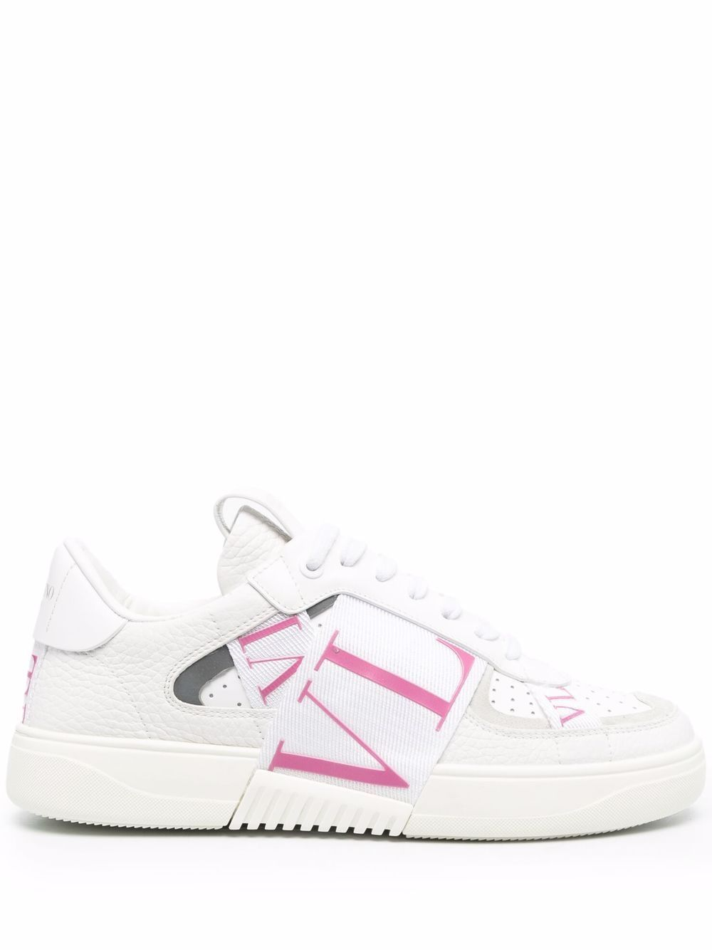 Vl7n leather sneakers