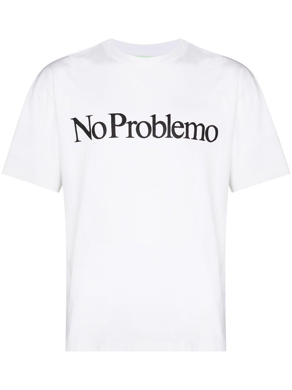 T-shirt no problemo in cotone