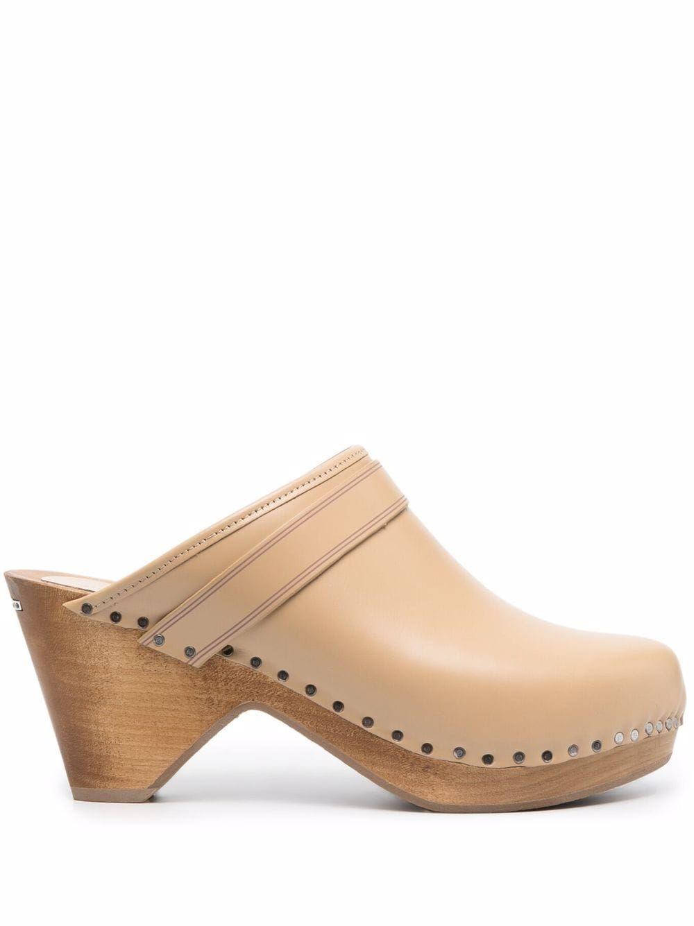 Sandalo tholas in pelle