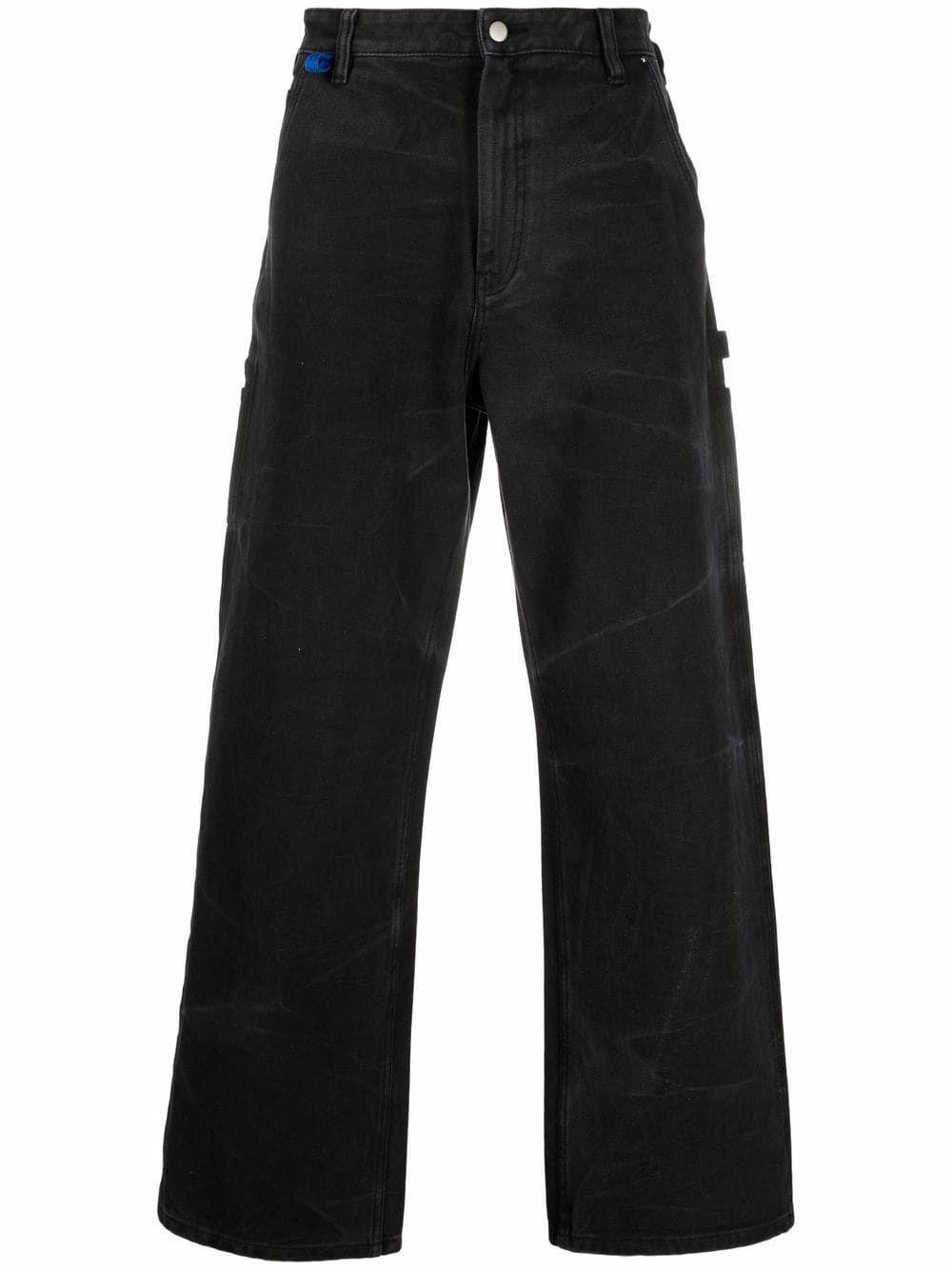 Acne pantaloni nero