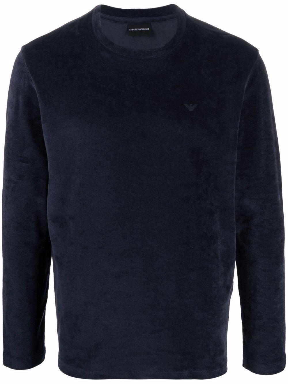 T-shirt a manica lunga in cotone