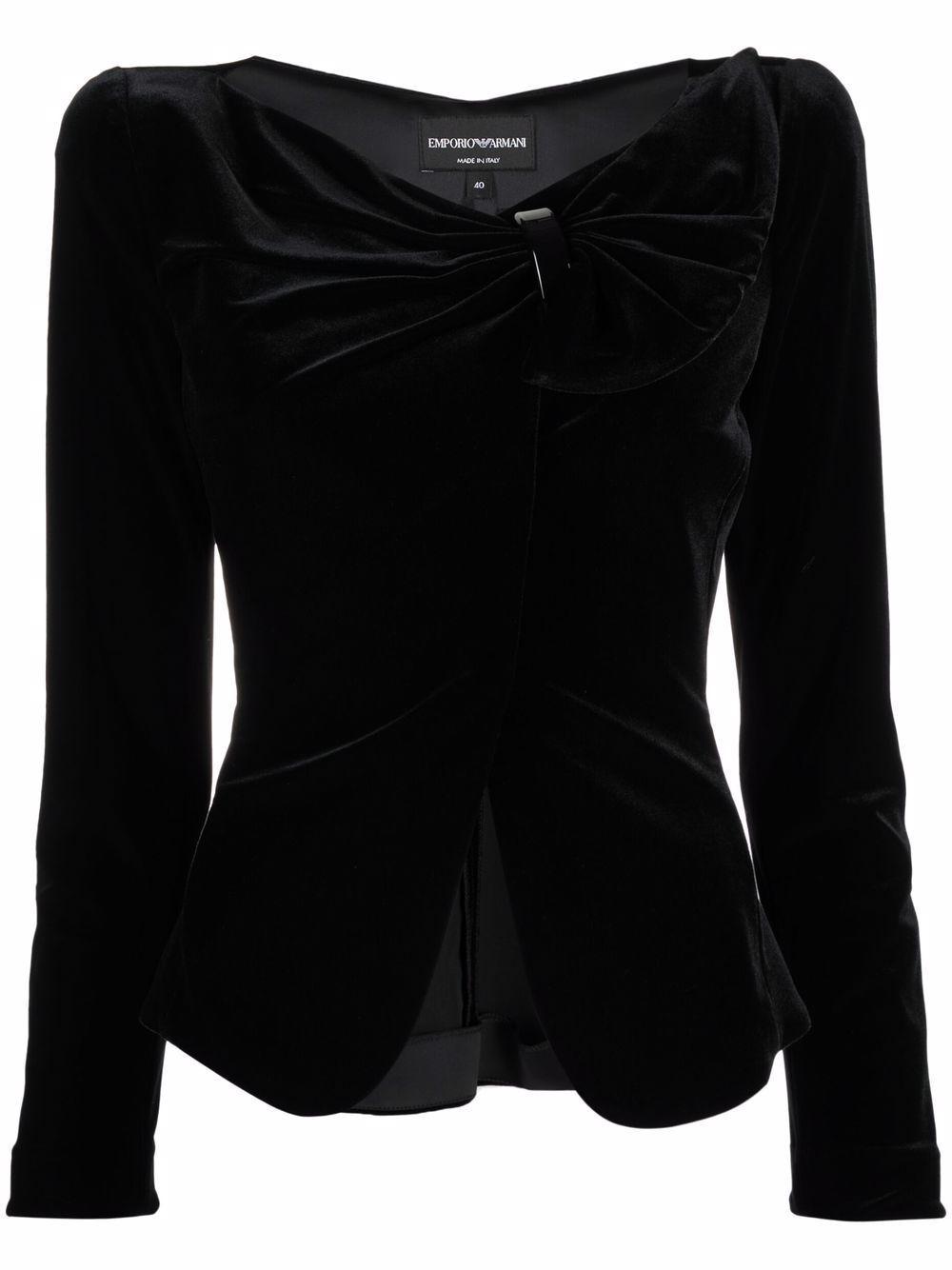 Emporio armani giacche nero