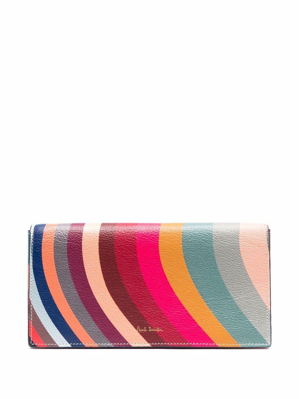 Portafoglio multicolor