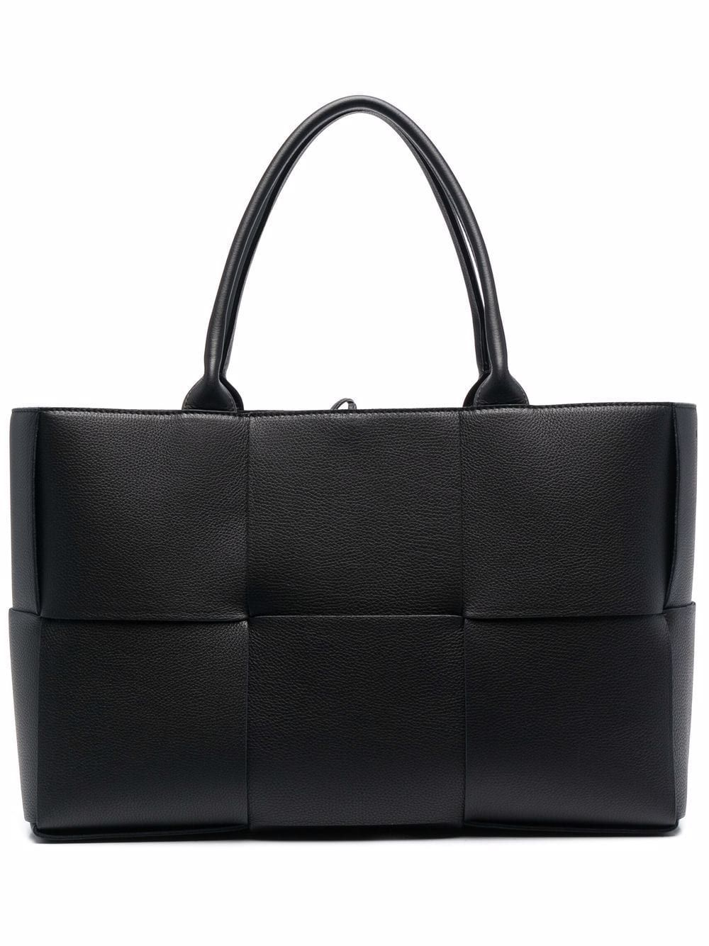 Arco leather shopping bag