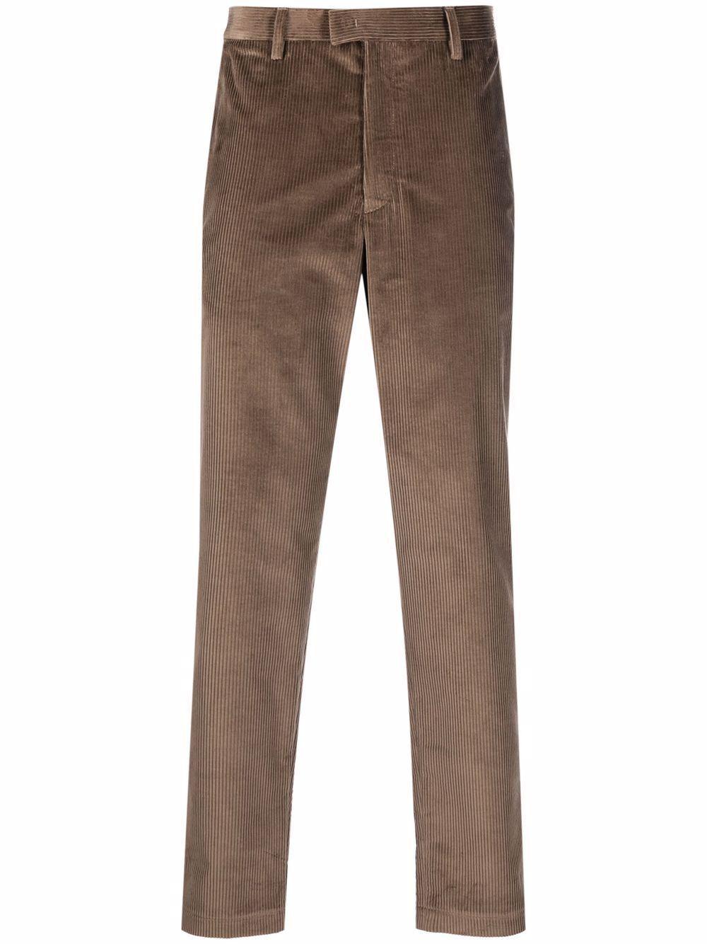 Emporio armani pantaloni marrone