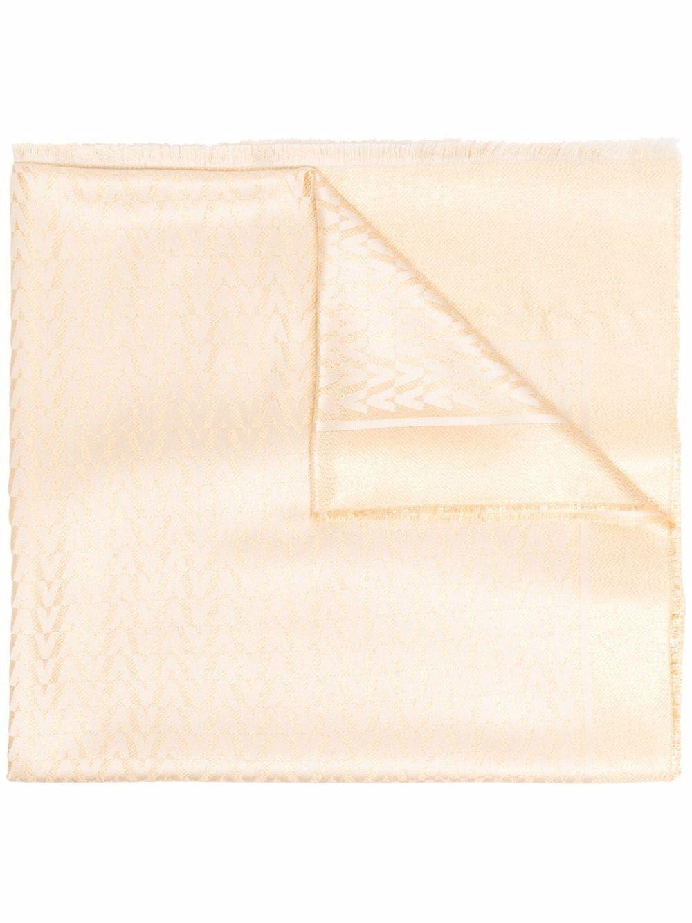 Valentino garavani scarfs golden