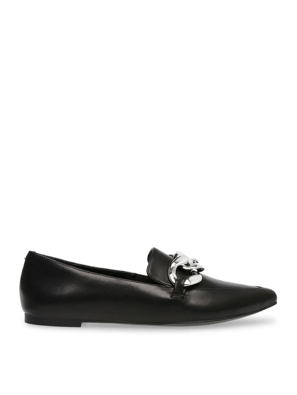 Steve madden flat shoes black