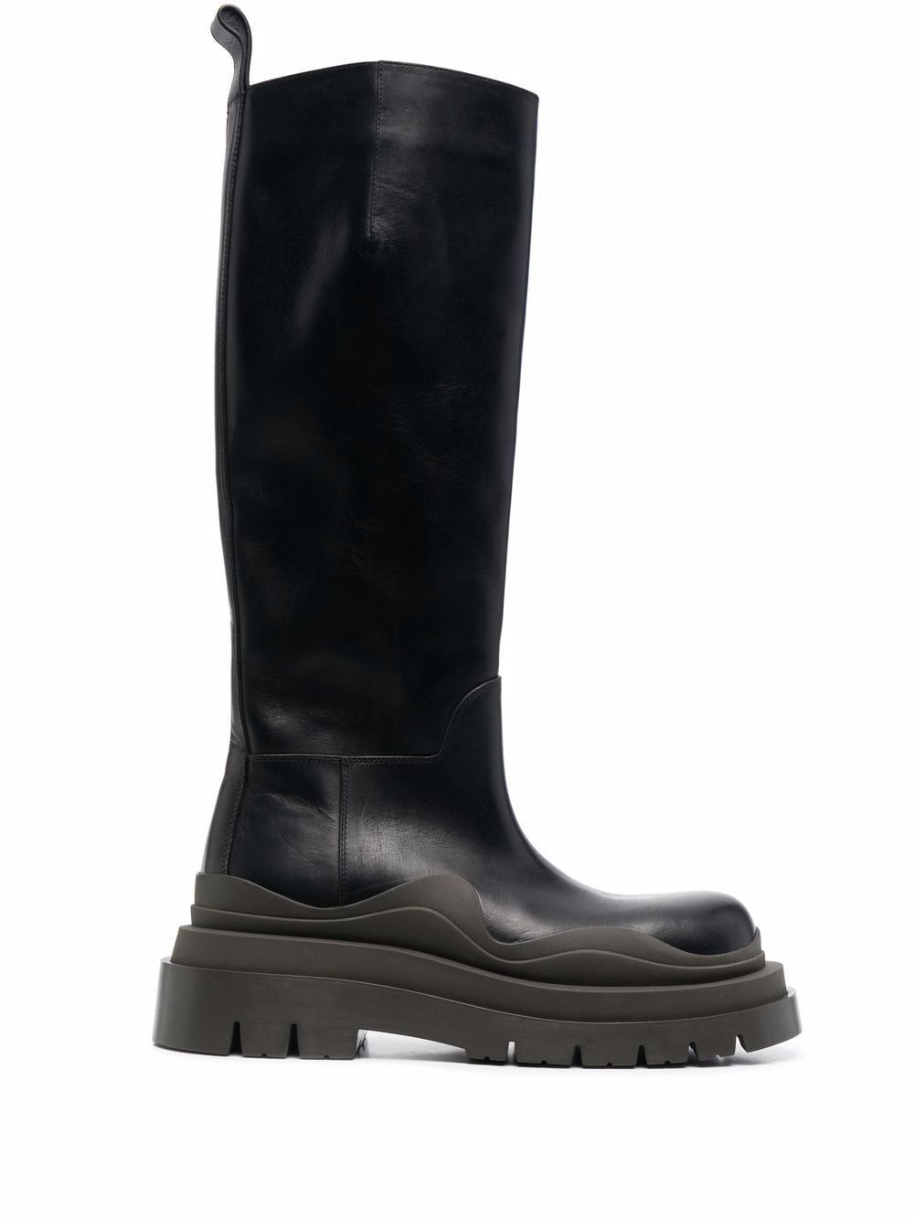 Bv tire leather boots