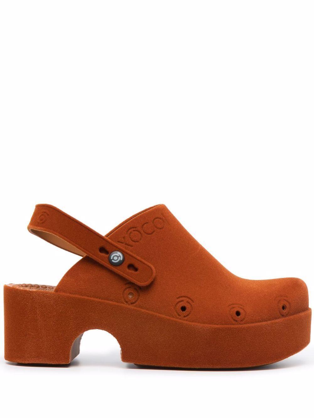 Low clogs sandals